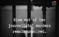 Nine out of Ten Attacks on Journalists Remain Unpunished